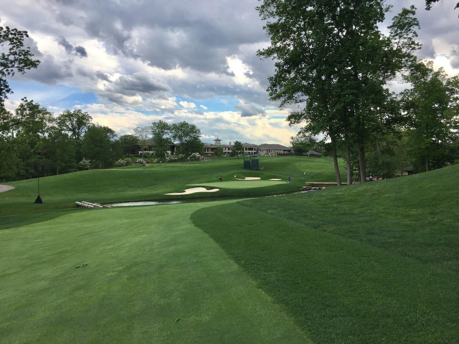 The #1 Writer in Golf: Muirfield Village Golf Club: Front ...