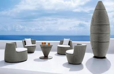 Rekaan Moden Kerusi & Meja yang Kreatif - kerusi mudah alih