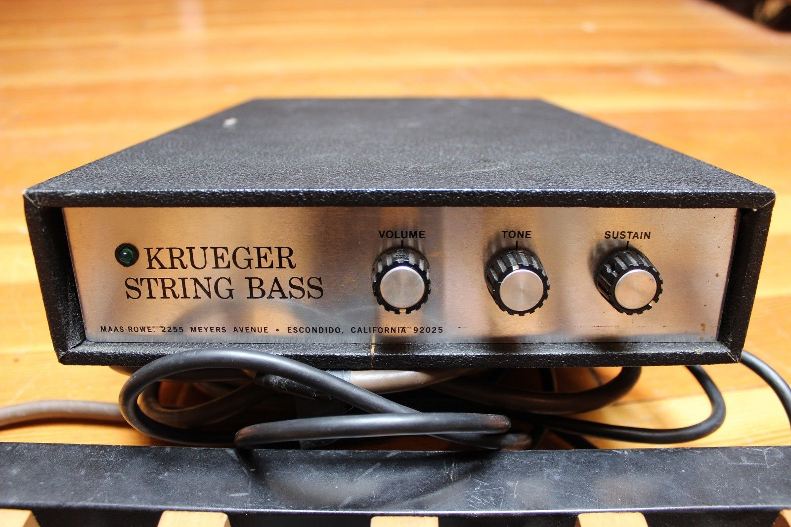 MATRIXSYNTH: Vintage Maas Rowe Krueger String Bass Pedals