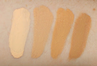 maybelline master conceal camouflage concealer review swatch swatches 10 fair 30 light/medium 40 medium 50 medium/deep
