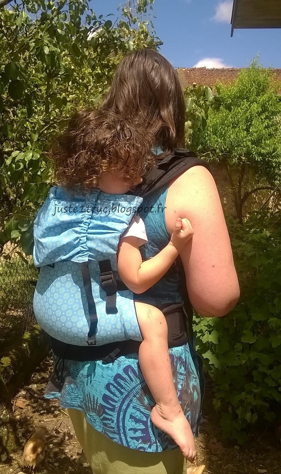test avis KIBI préformé porte-bébé babywearing babycarrier bambin évolutif  réglable portage tissu évolutivité review 80d57ef207c