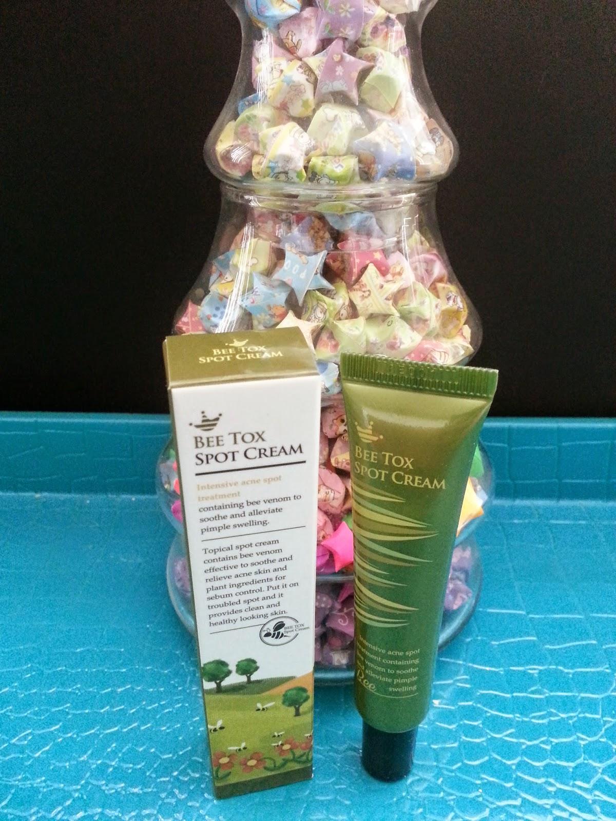 Shara Shara Bee Tox Spot Cream Review