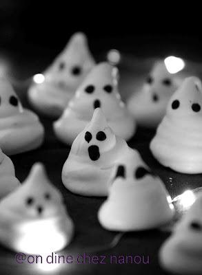 meringue , halloween , blanc d'oeufs