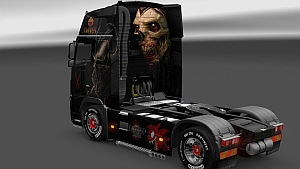 Demonic skin pack for Volvo 2009