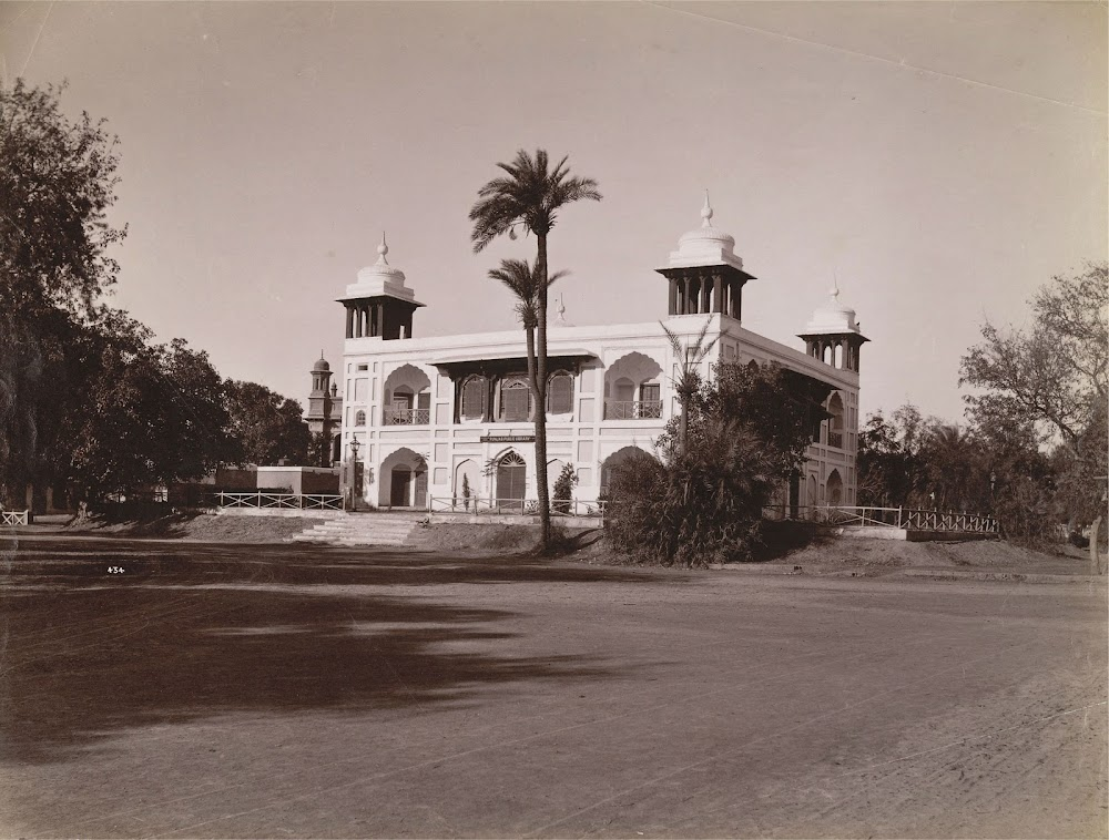 Punjab Public Library, Lahore, British India (Currently in Pakistan) 1870s