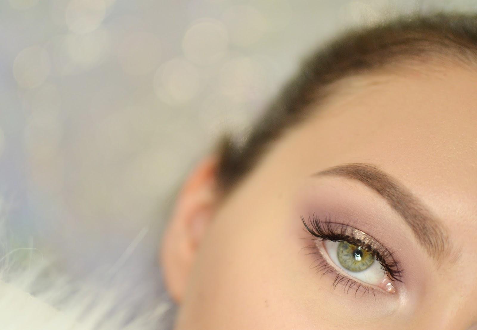 makijaż tutorial zielone oczy