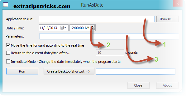how to Run any Trial Program Forever using RunAsDate software: