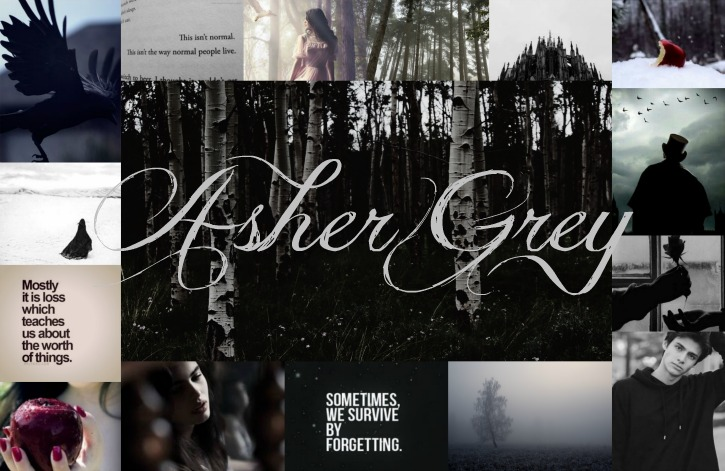 Asher Grey Collage