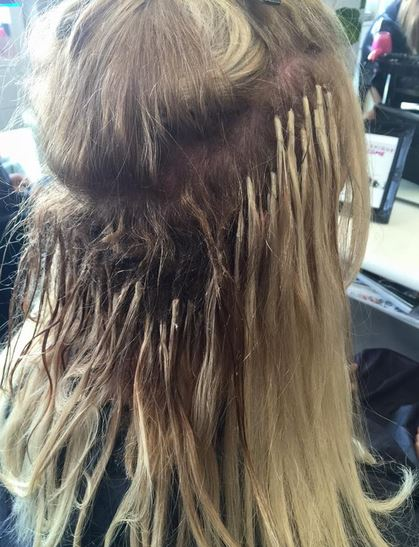 There is not a reason in the world to get hair extensions it is a well known fact that hair extensions can do damage to your natural hair the glue tape laserered fish line or one of the many many methods they solutioingenieria Image collections