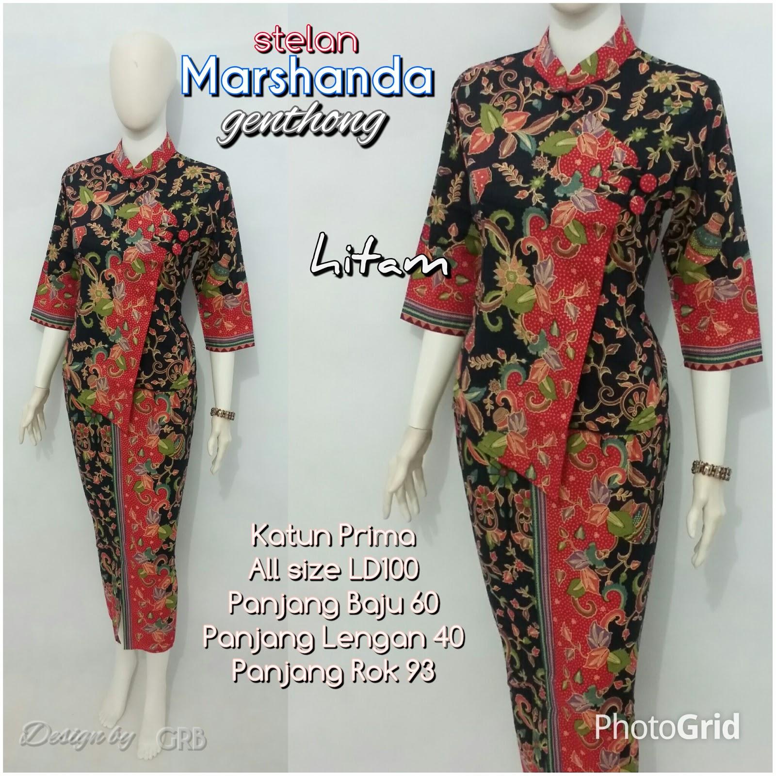 Baju Batik Kerja Wanita 17a740d9c2