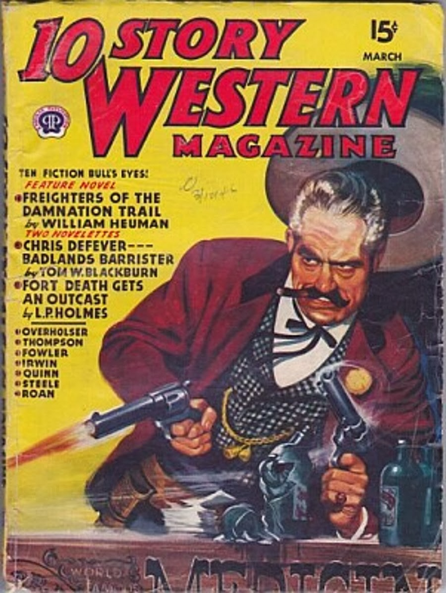 Rough edges november 2013 saturday morning western pulp 10 story western march 1946 fandeluxe