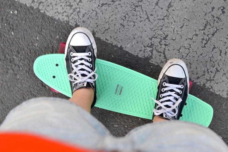 skateboard Albertine X Monoprix