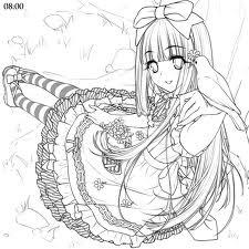 an!me 43v3r!: Anime line art! (o^v^o)