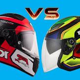 Bingung Pilih Helm Full Face atau Half Face? Pertimbangkan Hal Ini Sebelum Beli