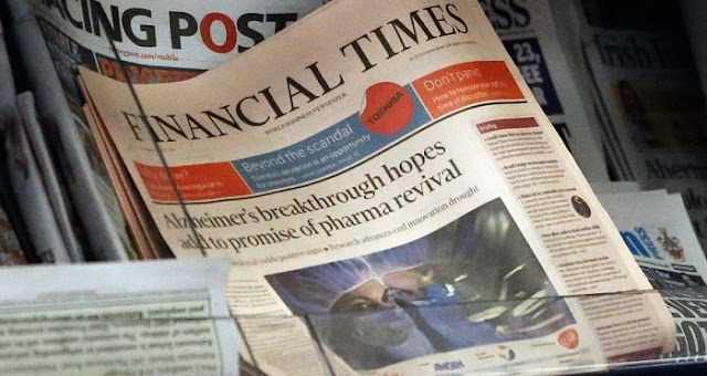 "Financial Times: ""Odebrecht é máquina de propinas"""
