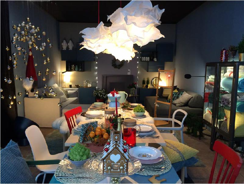 Sopri la nuova collezione IKEA Natale 2017