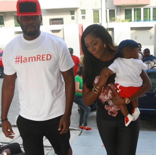Tiwa Savage Pop queen wants her son's 1st word to be 'mama'