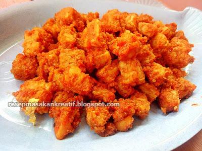 sambal tempe bumbu rujak memperlihatkan sensasi rasa yang yummy dan pedas Resep Sambal Goreng Tempe Tumis Pedas Bumbu Rujak