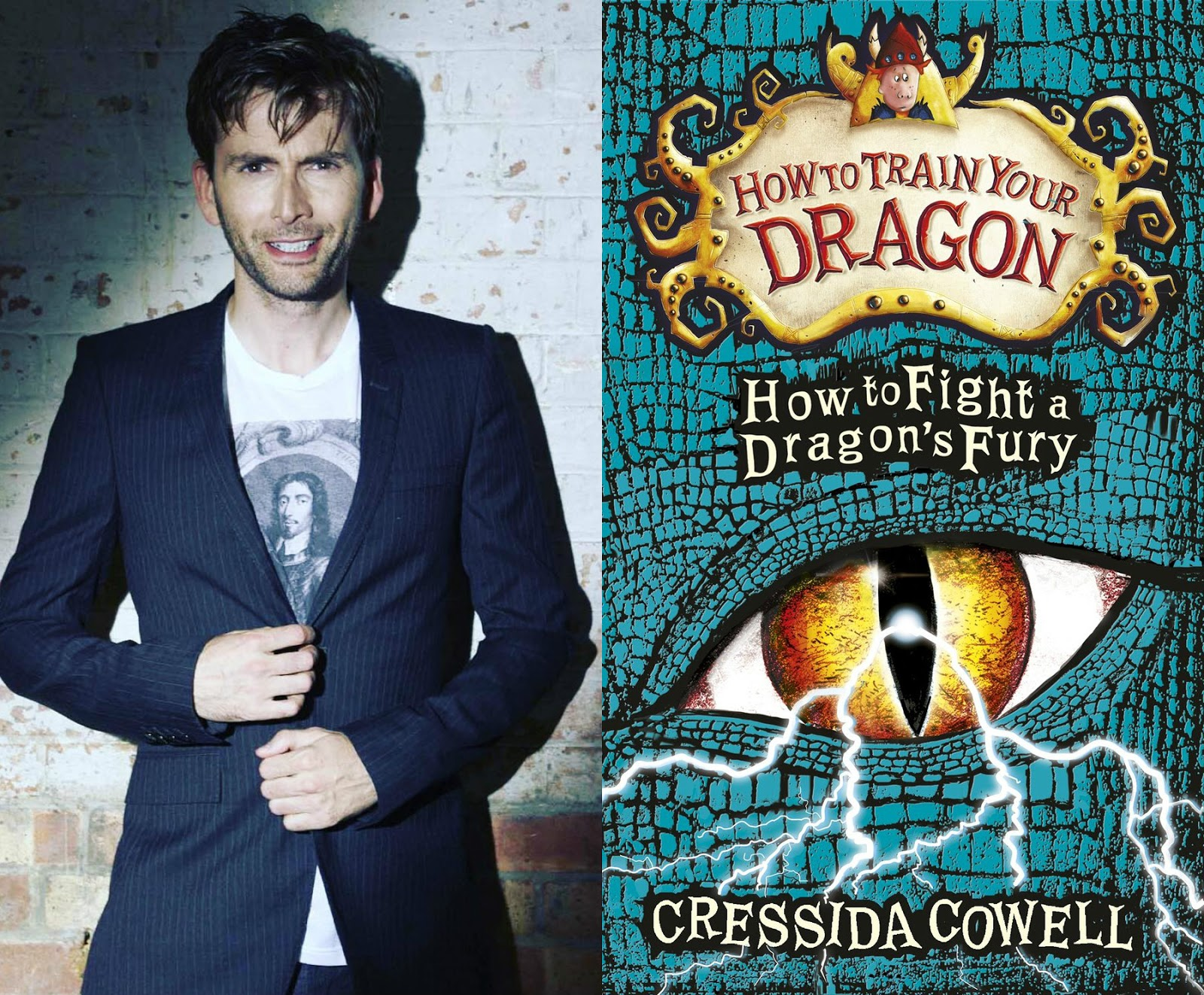 Audiobook: David Tennant Records Final Volume Of The How To Train Your  Dragon Saga