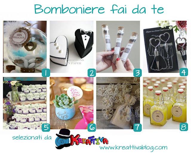 Conosciuto Matrimonio fai da te: Bomboniere - Kreattivablog DI89