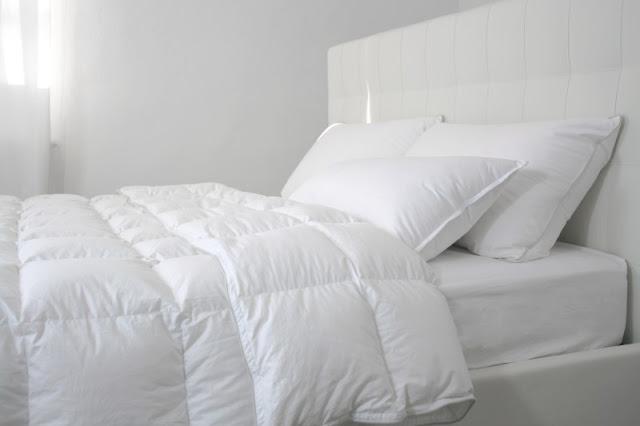 Piumoni al posto delle coperte e trapunte