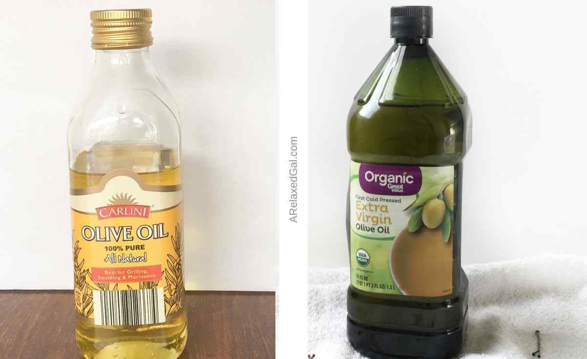Using olive oil on relaxed hair   A Relaxed Gal