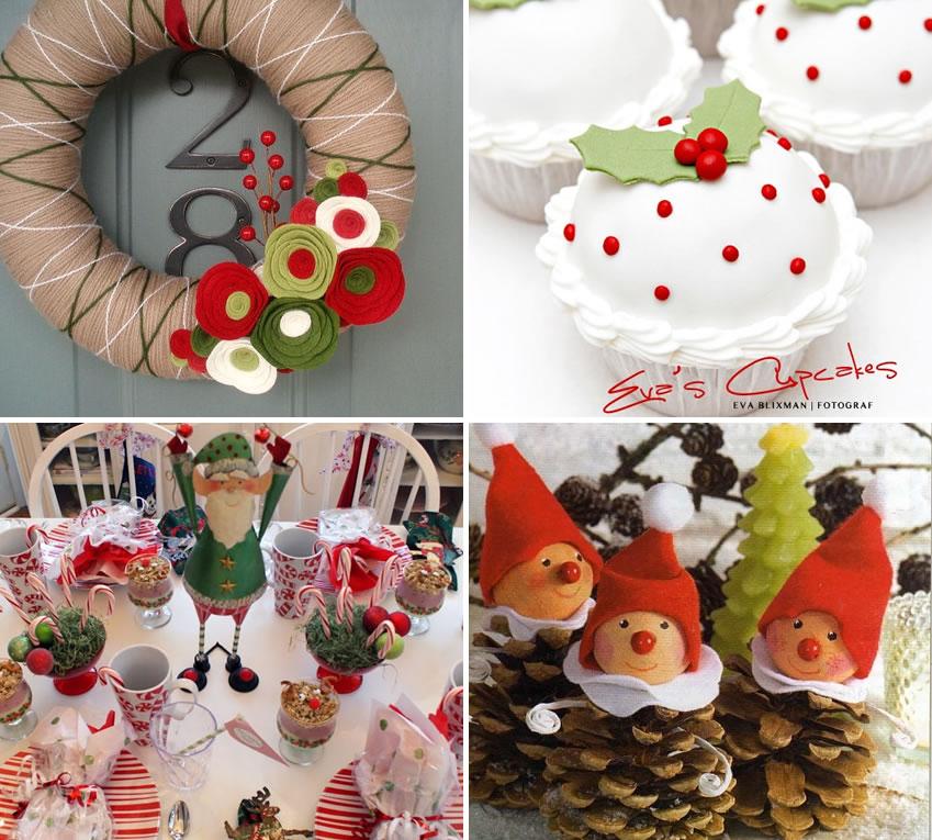 Ideas para navidad m s chicos - Manualidades para decorar en navidad ...