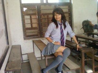 naked teen girls in school skirts