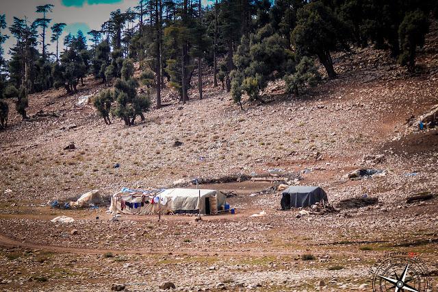 asentamiento pastores bereberes
