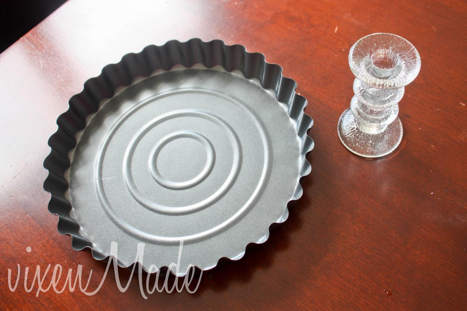 DIY Fluted Cake Plate & DIY Fluted Cake Plate - vixenmade parties