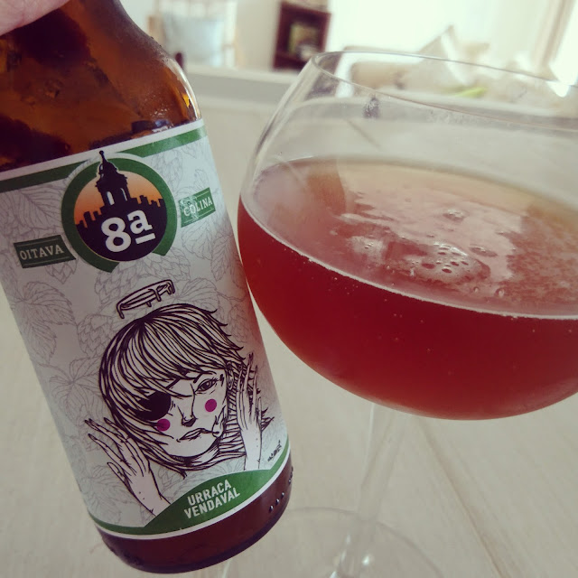 Portugal Craft Beer Review: Urraca Vendaval IPA from Oitava Colina
