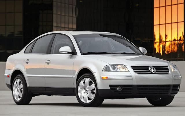VW Passat 2003 - recall