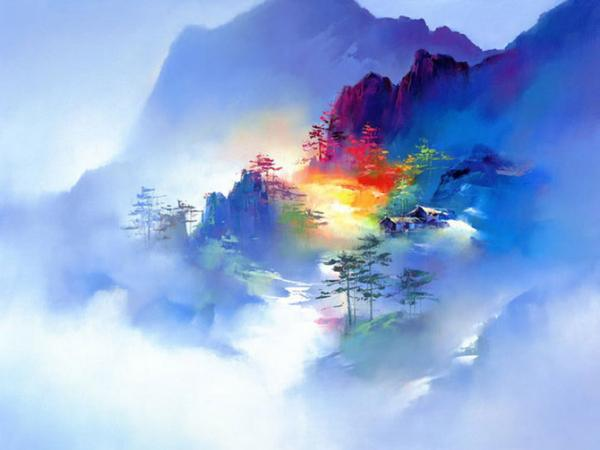 Beautiful Landscape Paintings By