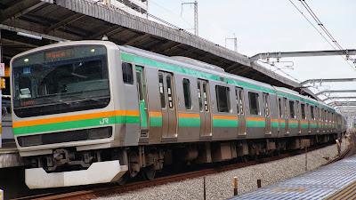JR東日本E231系1000番台