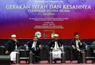 Di Malaysia, Rakyat Diajak Pemerintah Cegah Paham Sesat Syiah