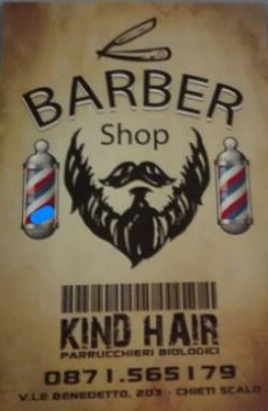 BARBER SHOP KIND HAIR VIALE B.CROCE 203 CHIETI SCALO