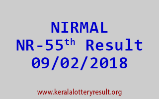 NIRMAL Lottery NR 55 Results 09-02-2018