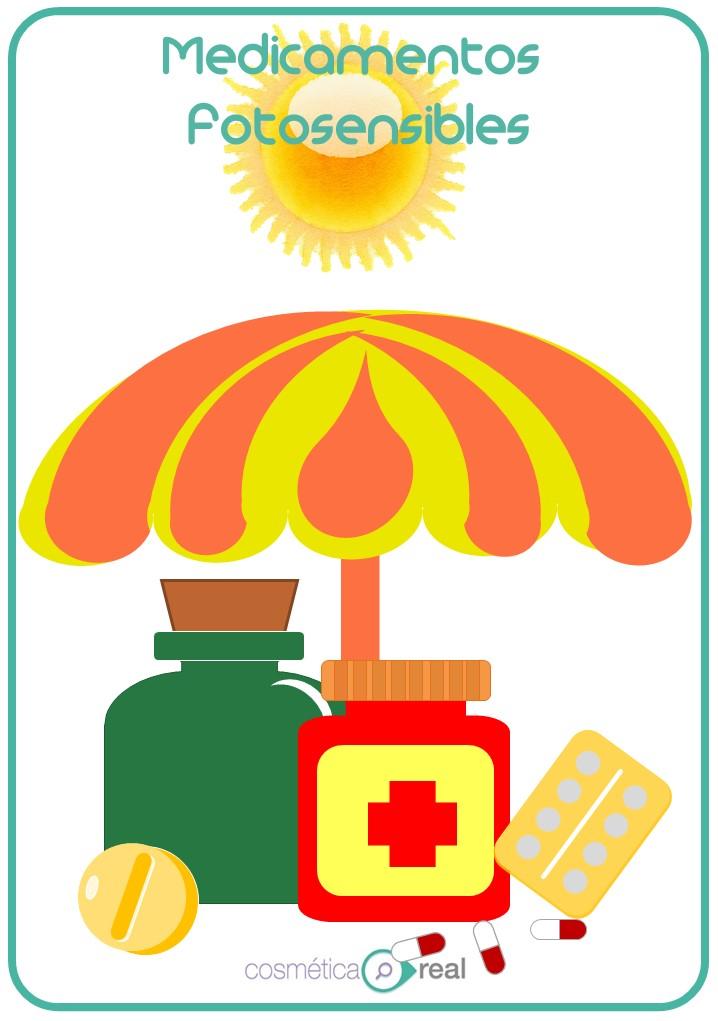 Medicamentos y cosméticos: Fotosensibles y fotosensibilizantes