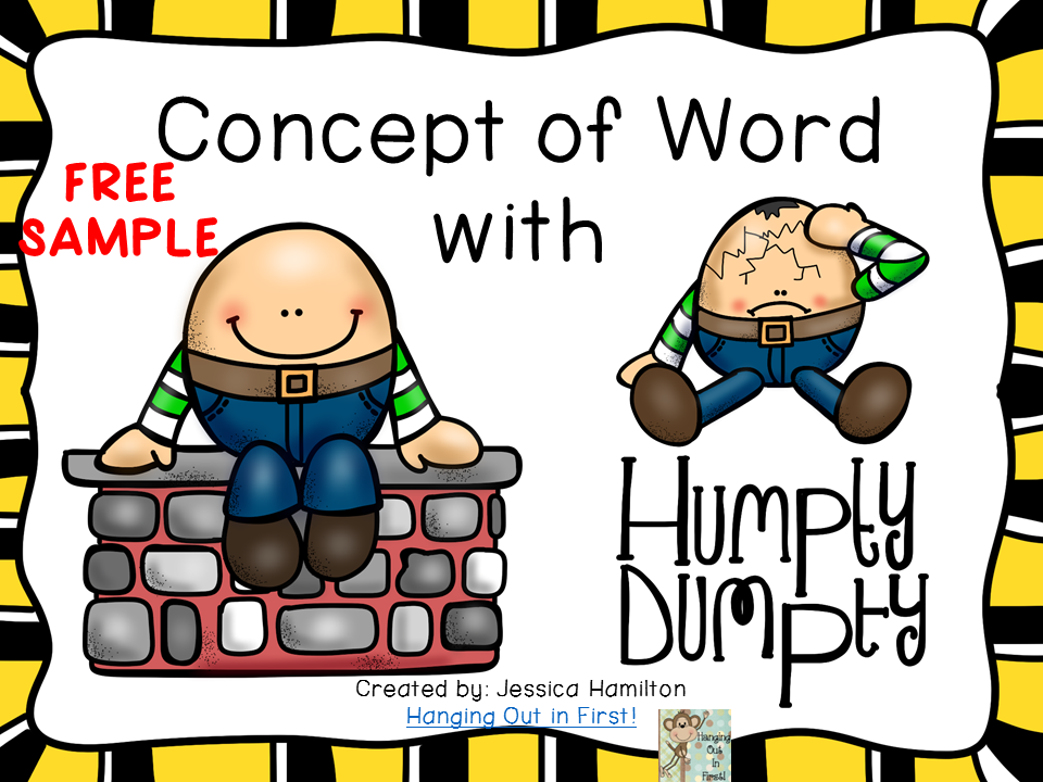 http://www.teacherspayteachers.com/Product/Concept-of-Word-with-Nursery-Rhymes-Humpty-Dumpty-FREE-SAMPLE-1570810