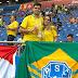 Paraenses marcam presença na estreia do Brasil em Rostov