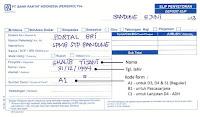 Contoh Slip Pembayaran STP Bandung