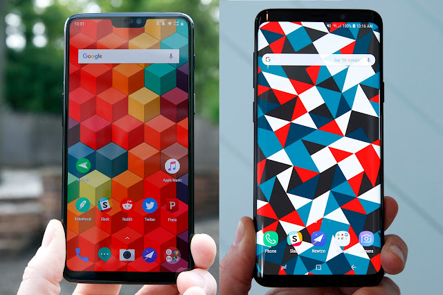 OnePlus 6 vs. Galaxy S9: Which Android flagship should you buy?