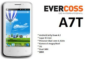 Cara Flash Evercoss A7T Plus Via PC - Mengatasi Bootloop