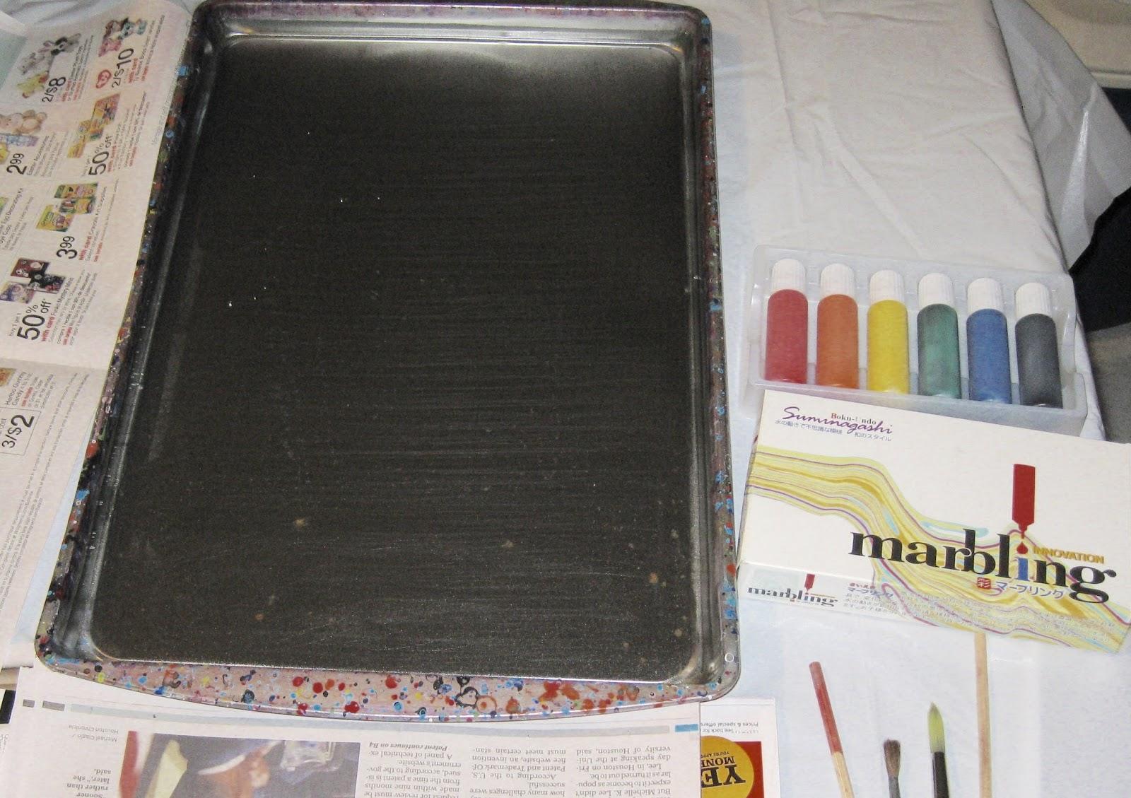 Art Craft Share Marbling Suminagashi Style