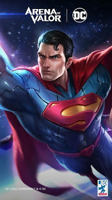 hình nền liên quân supermen chúa tể công lý