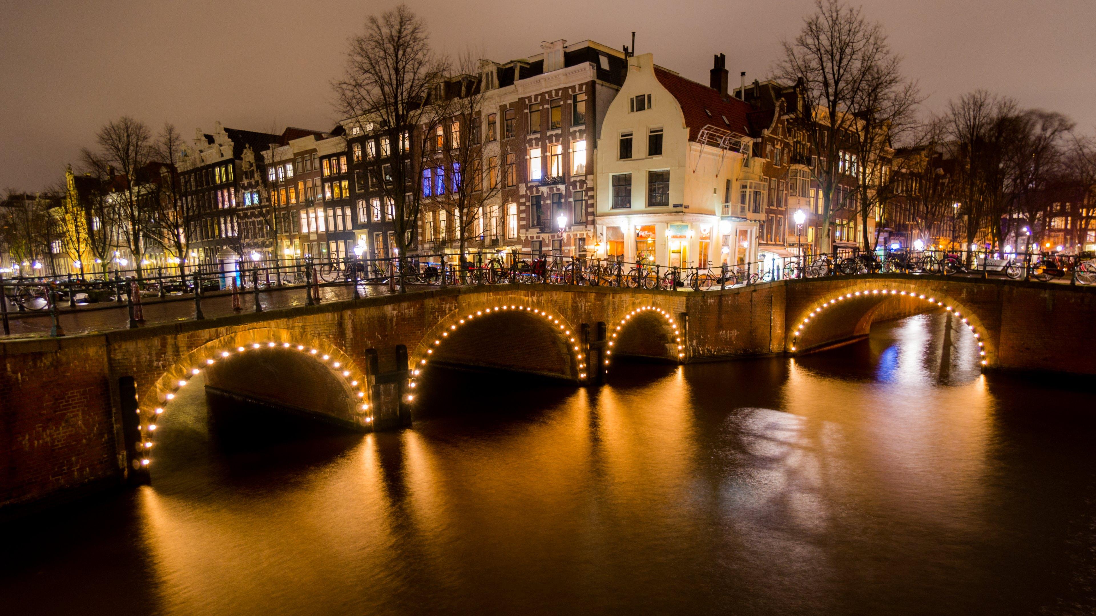amsterdam netherlands hd wallpapers 4k