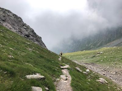 Trail near Passo Belviso.