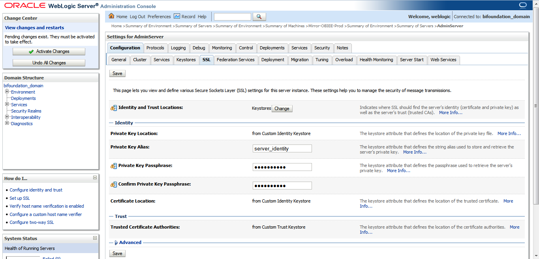 BI Explored: SSL Configuration in OBIEE