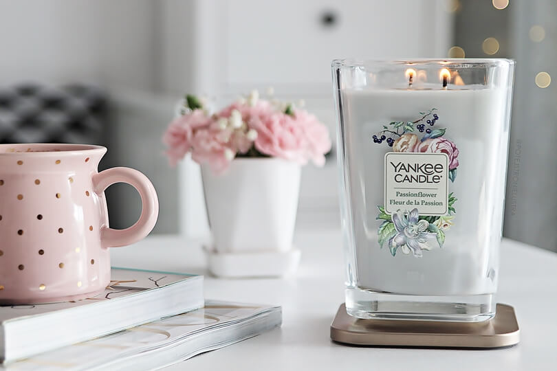 duż świeca yankee candle passionflower elevation collection with platform lid