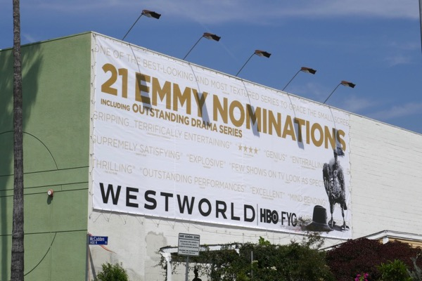 Westworld season 2 Emmy nominee billboard